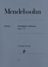 (Mendelssohn) Variations serieuses op. 54