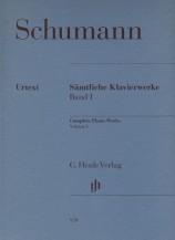 (Schumann) Piano Works, Volume I