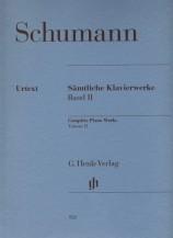 (Schumann) Piano Works, Volume II