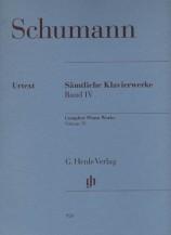 (Schumann) Piano Works, Volume Ⅳ