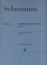 (Schumann) Piano Works, Volume Ⅴ