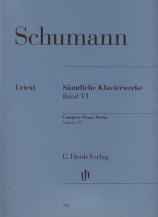 (Schumann) Piano Works, Volume Ⅵ